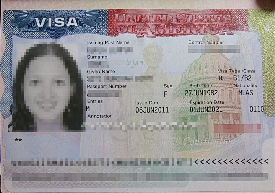 Visa du lịch Mỹ