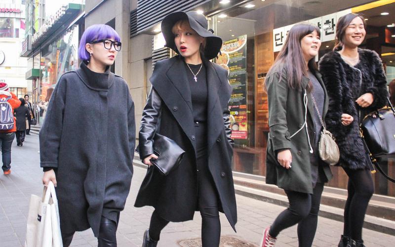 Hàn Quốc được cho là nơi có ngành thời trang phát triễn bậc nhất Châu Á.