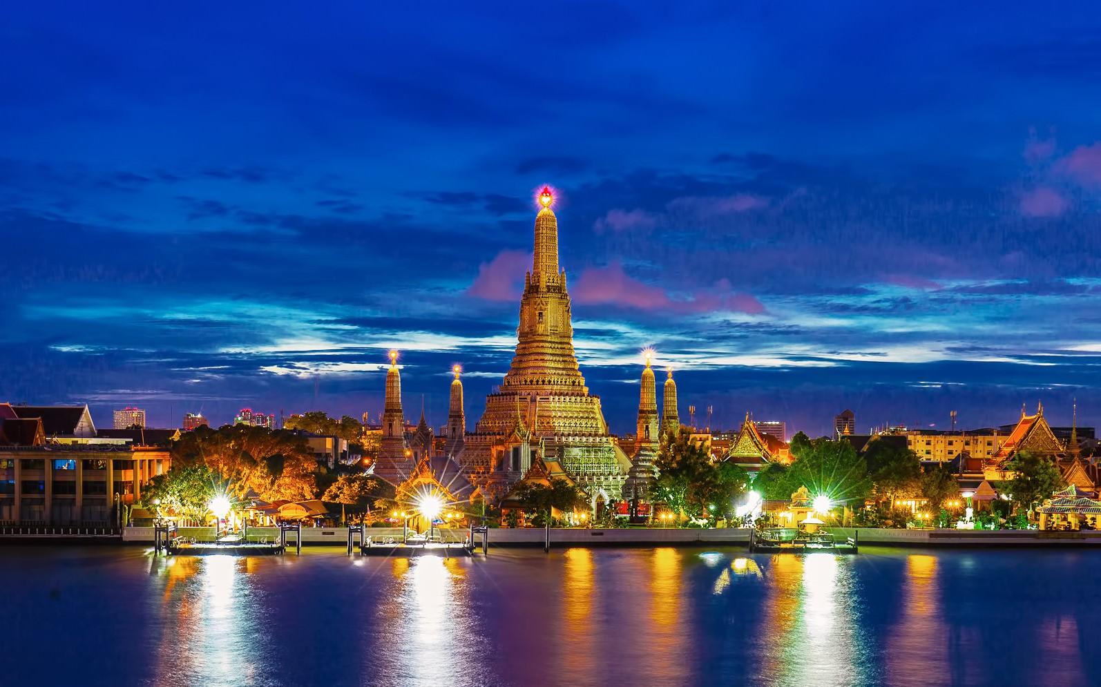 Bangkok nổi tiếng với tên gọi dài nhất thế giới.